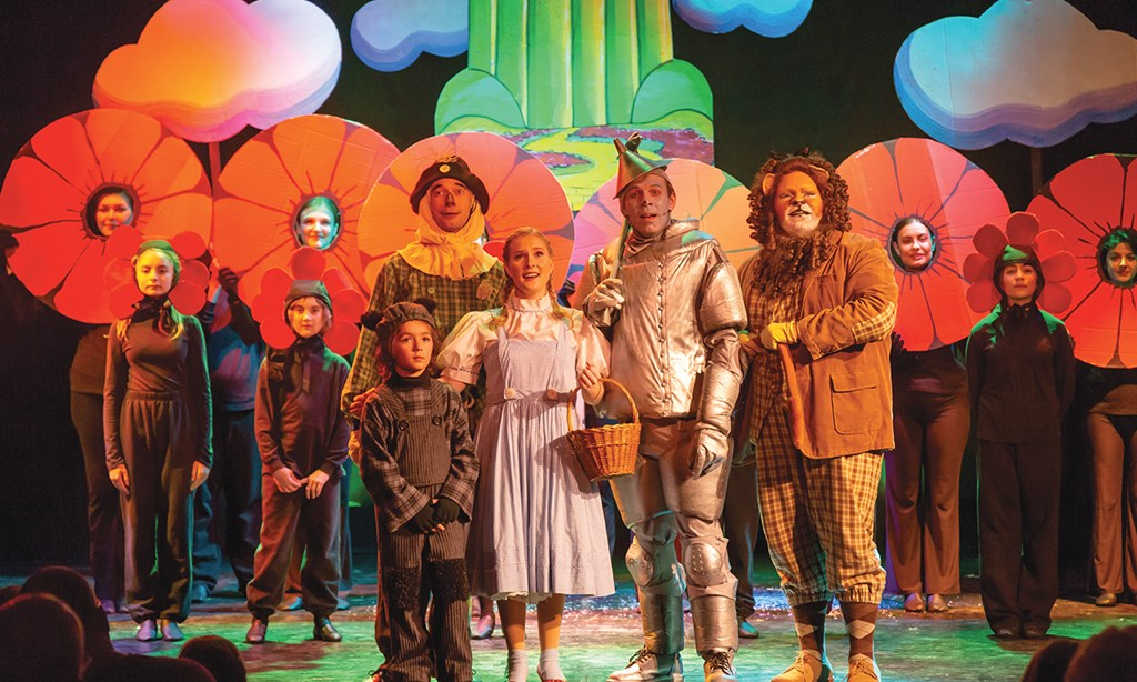 The Wizard of Oz at the Growing Stage Theatre in NJ
