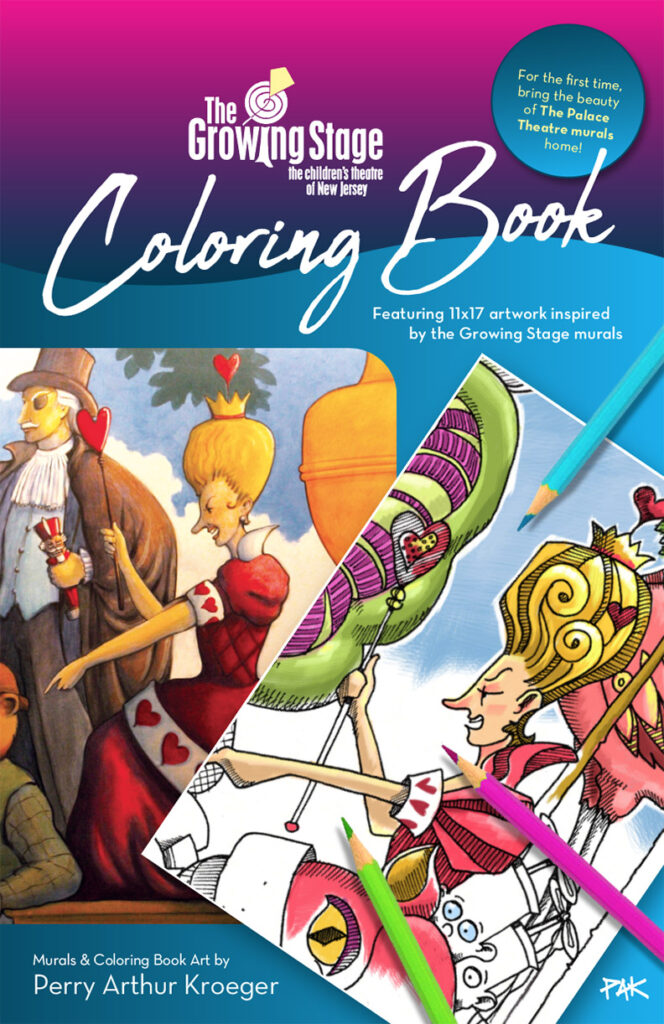TGS Coloring book cover