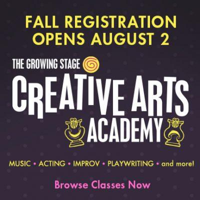 Creative Arts Academy fall