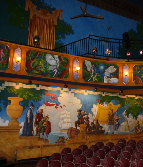 The Growing Stage of NJ Palace Theatre Interior 1